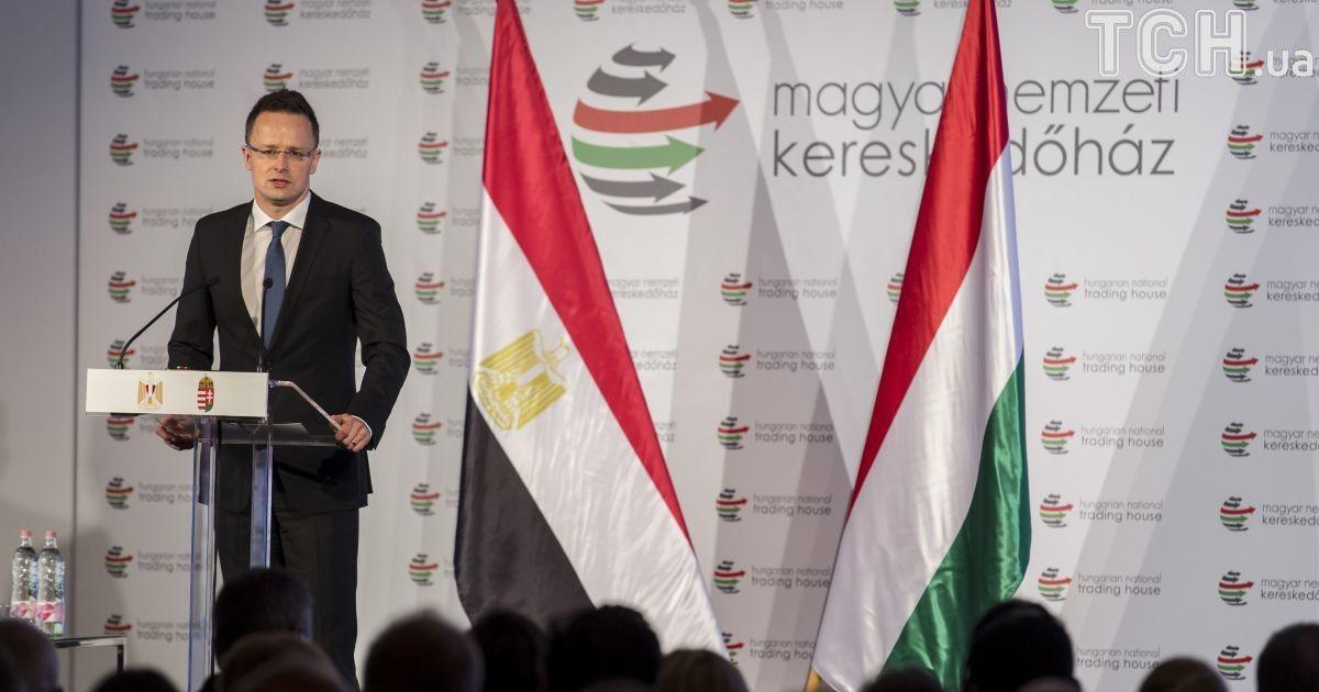 Голова МЗС Угорщини у Брюсселі виступив проти євроатлантичних зусиль України