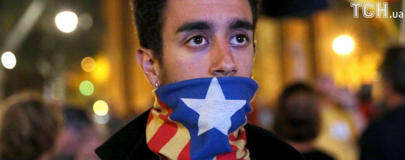 """Конституционный суд Испании отменил """"декларацию"""" о независимости Каталонии"""