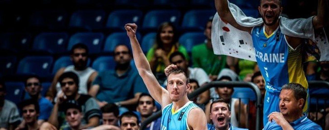 Збірна України з баскетболу увійшла до топ-20 світового рейтингу