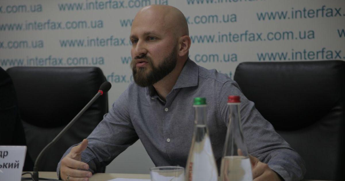 """Руководитель """"Дома инноваций"""" Александр Кульвановський"""