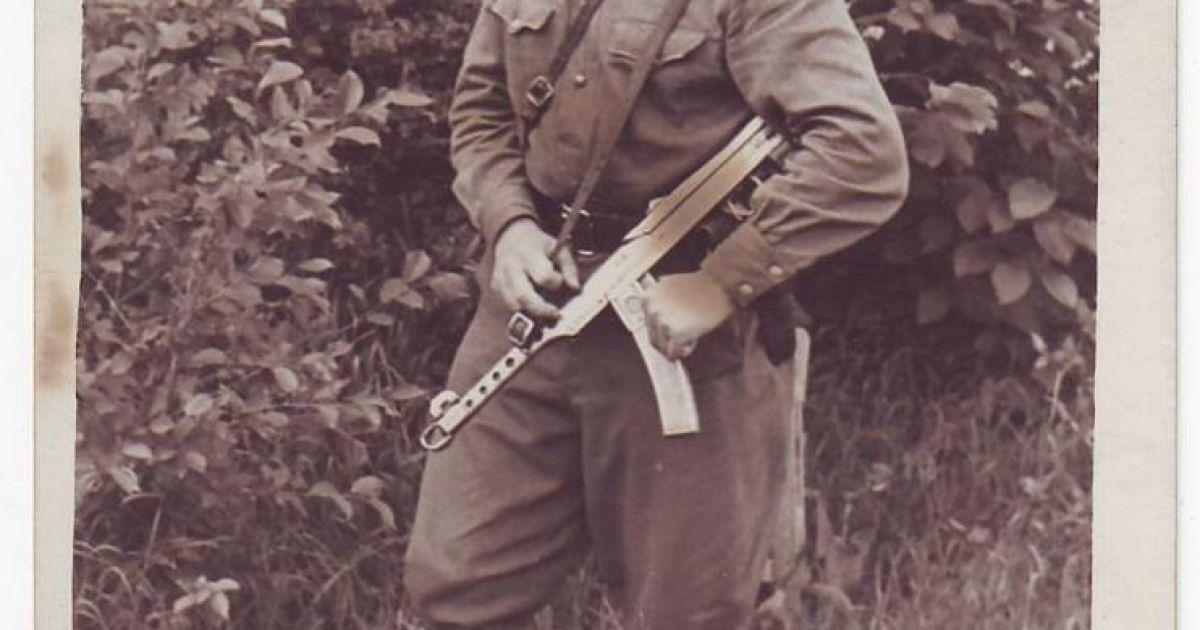 """Іван Андрухів, псевдо - """"Дорко"""". Фото поч. 50-х рр."""