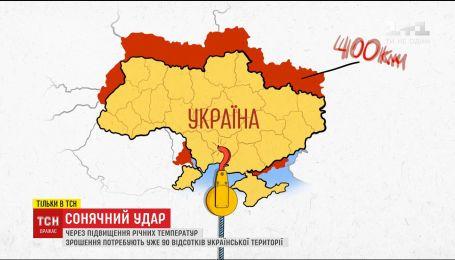 Из-за климатических изменений Украина сместилась на 400 километров на юг