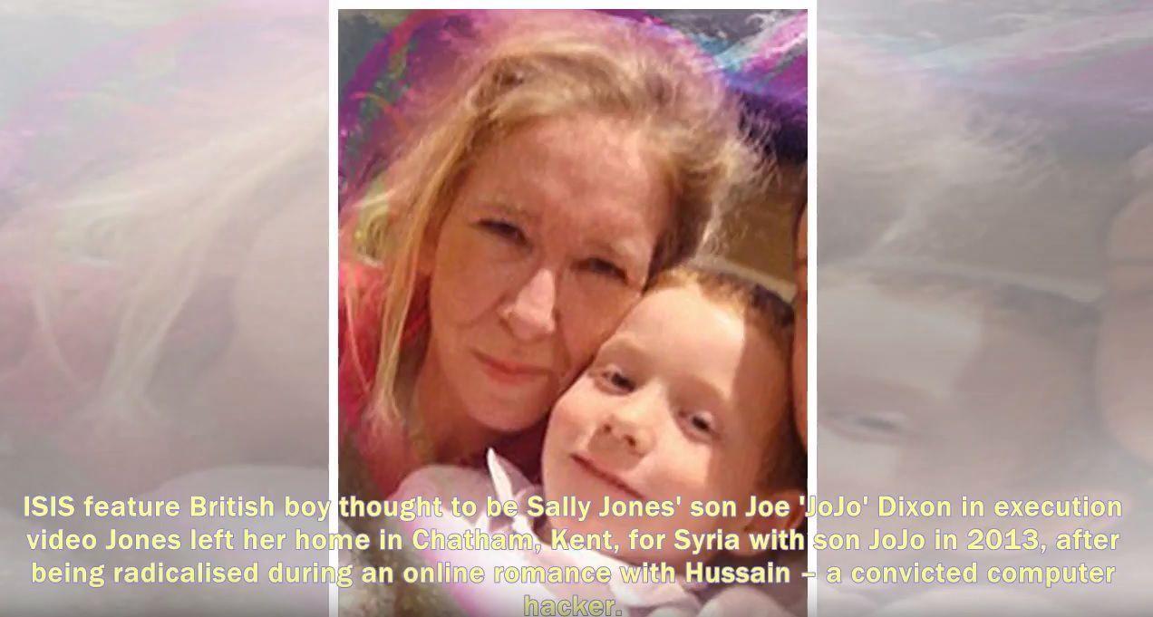 Саллі Джонс з сином