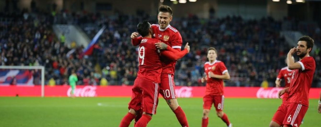 Збірна Росії проведе товариські матчі з Аргентиною та Іспанією
