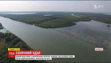 Солнечный удар: Дунай негативно влияет на хозяйство украинцев, принося ил из Европы