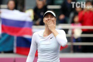 Российская теннисистка Шарапова выиграла первый титул после дисквалификации