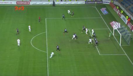Черноморец - Динамо - 2:1. Видео гола Кравца