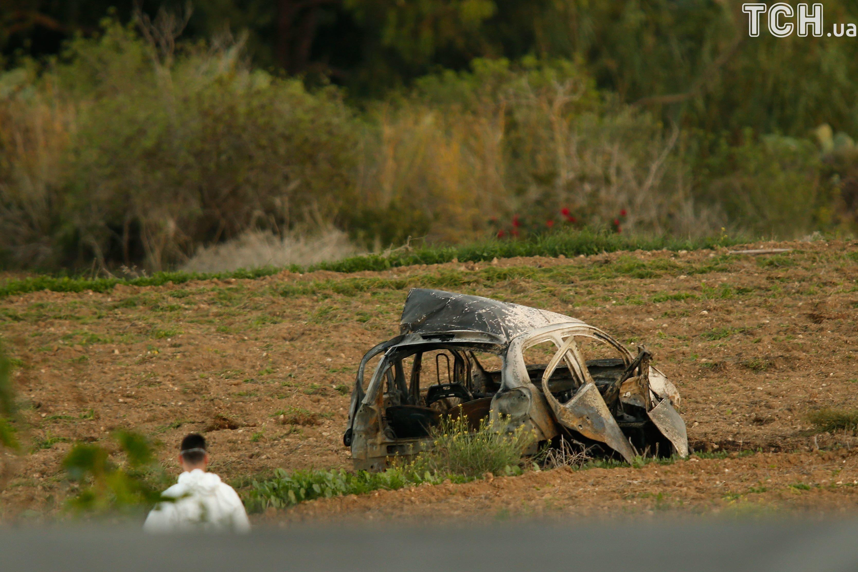 Загибла від вибуху журналістка з Мальти Галіція