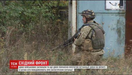 На фронте враг ведет все более мощные обстрелы украинских позиций