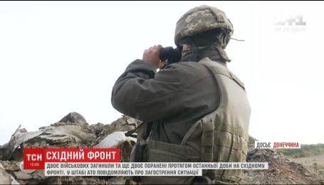Оккупант на фронте усилил обстрелы украинских позиций
