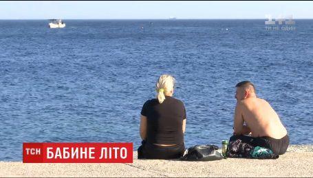 В Украине столбики термометров покажут более 20 градусов