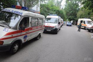 Двое пострадавших от взрыва в Киеве остаются в реанимации в тяжелом состоянии