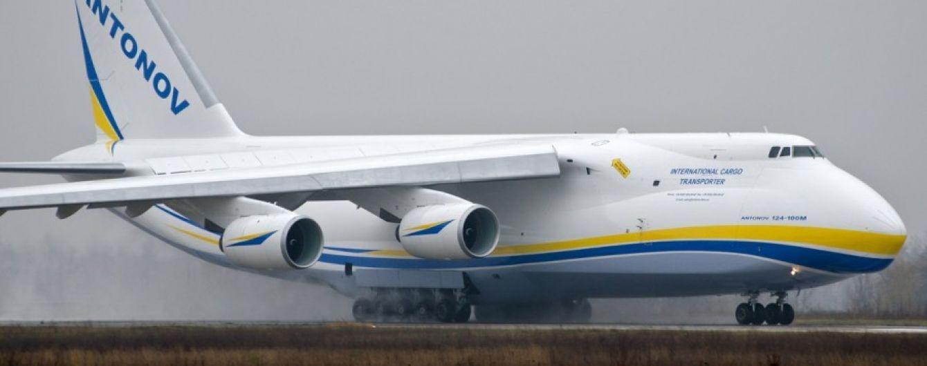 """Украинский самолет """"Руслан"""" принял участие в подготовке запуска Falcon Heavy"""
