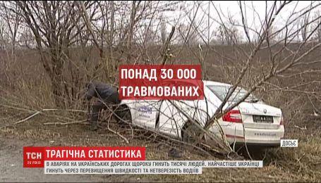 Трагічний рекорд: у Україні смертельні ДТП стаються частіше, ніж в будь-якій країні Європи