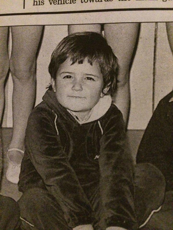 Орландо Блум в дитинстві
