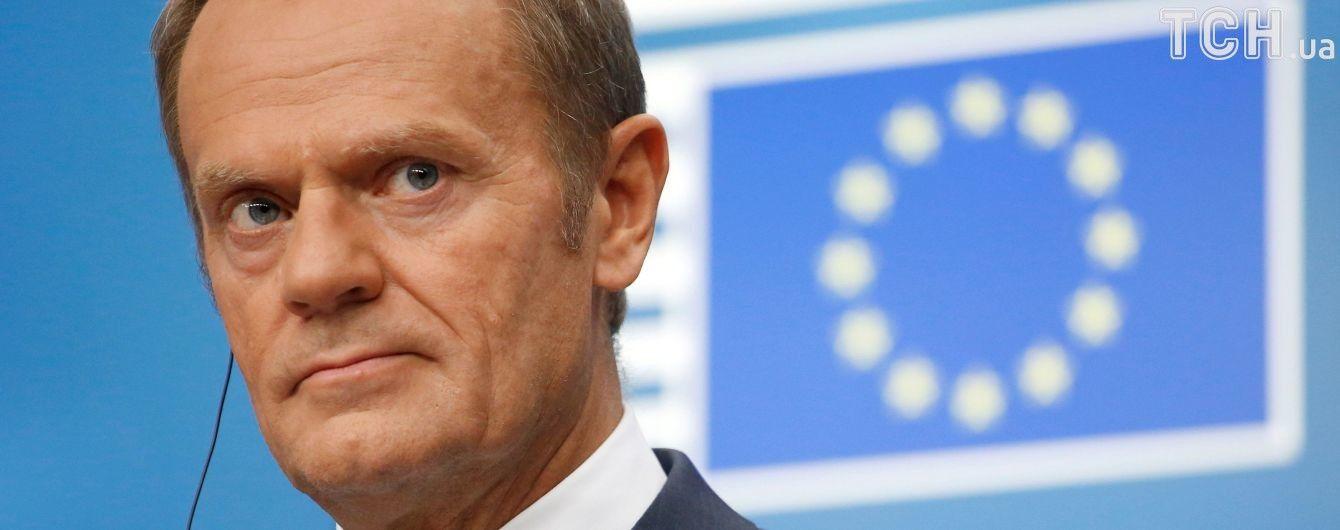 Президент Європейської Ради вимагає звільнити усіх українських політв'язнів