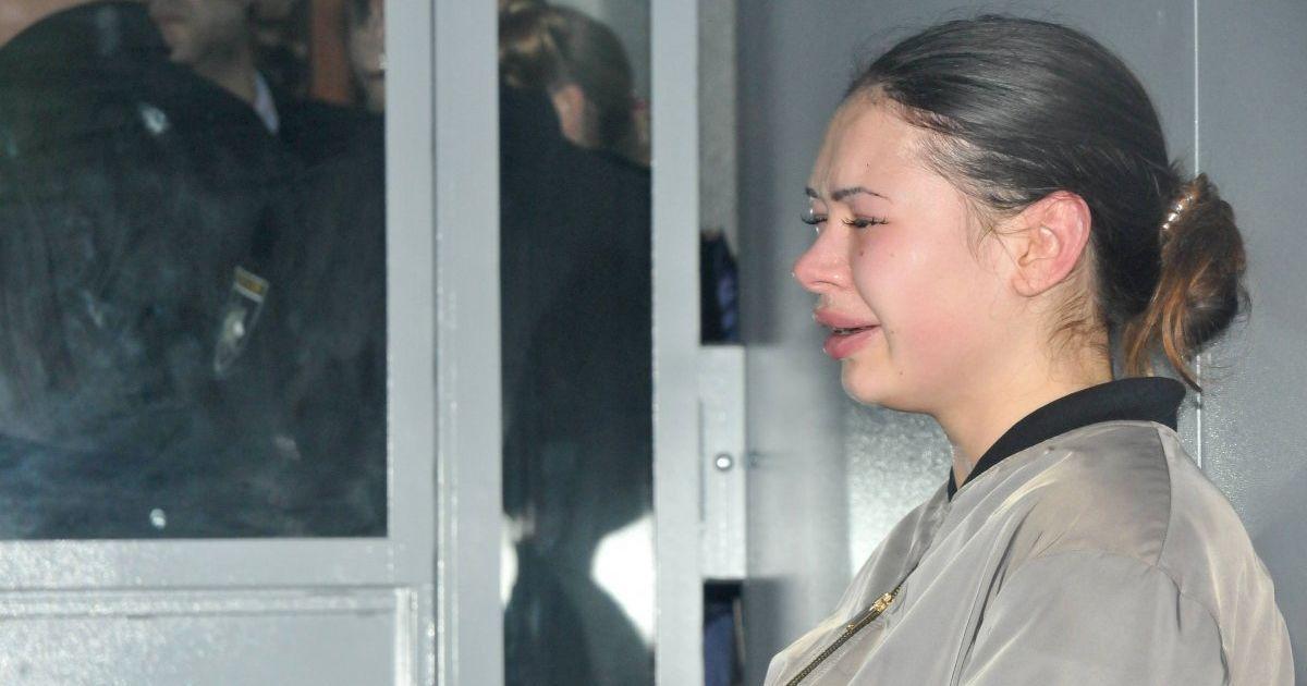 Возвращение на место убийства. Зайцеву из СИЗО привезли на место аварии в Харькове