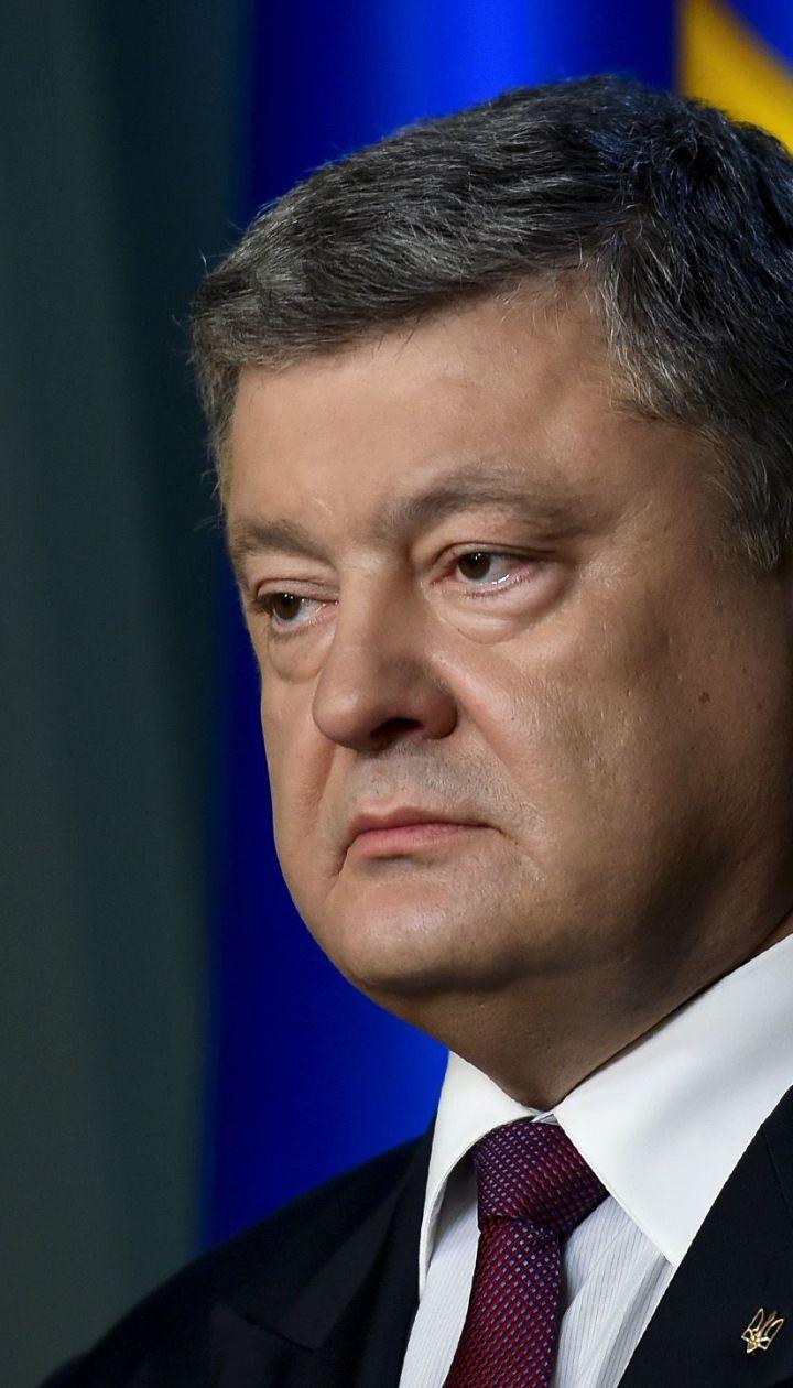 Разведка сообщила о серьезной угрозе вторжения армии РФ в Украину через сушу – Порошенко