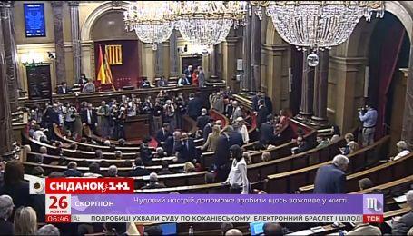 Глава Каталонии Карлос Пучдемон лично выступит в парламенте Испании