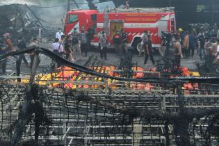 В Індонезії стався вибух на заводі феєрверків: десятки загиблих і постраждалих
