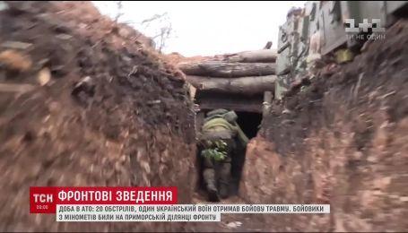 Доба в АТО: бойовики з гранатометів накрили Піски