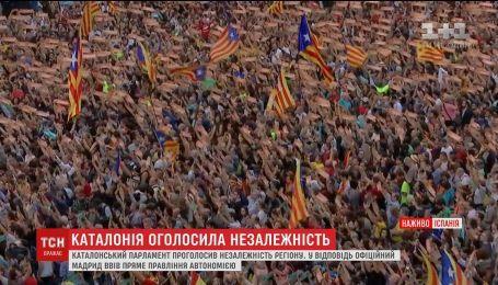 Мадрид планирует ввести в провинции Каталония прямое правление