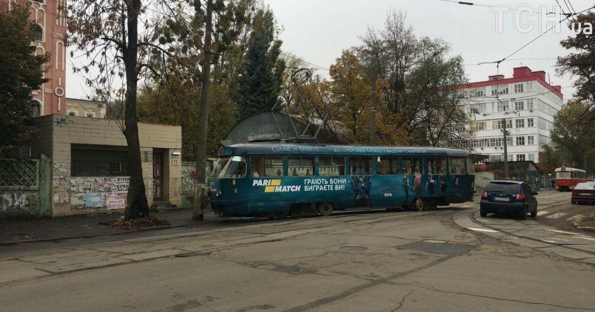 Фото з місця інциденту  @ ТСН.ua