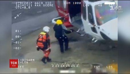 """Скалы и """"Help"""" из мха: с необитаемого острова у Швеции спасли россиянина"""