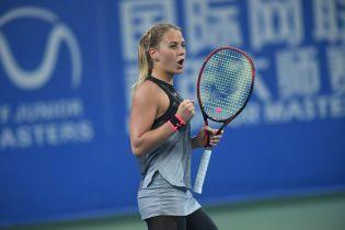 15-летняя украинка Костюк вышла в финал теннисного турнира в Китае