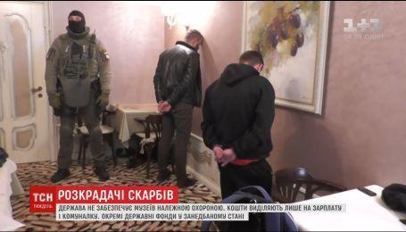 Охота на старину: из украинских музеев древности похищают грузовиками