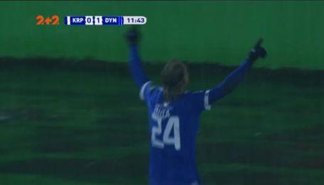 Карпати - Динамо - 0:1. Відео голу Віди