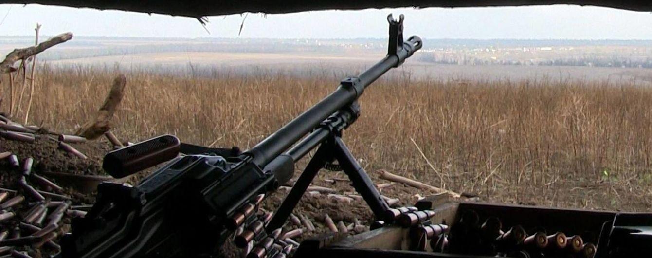 За сутки боевики семь раз обстреливали украинские позиции на Донбассе