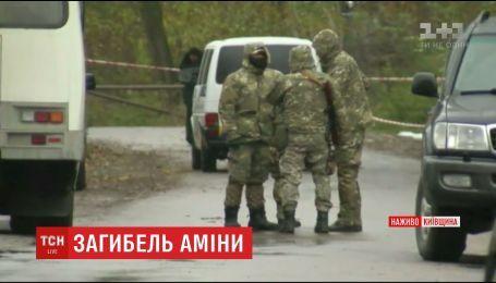 В Глевахе правоохранители продолжают следственные действия из-за убийства Окуевой