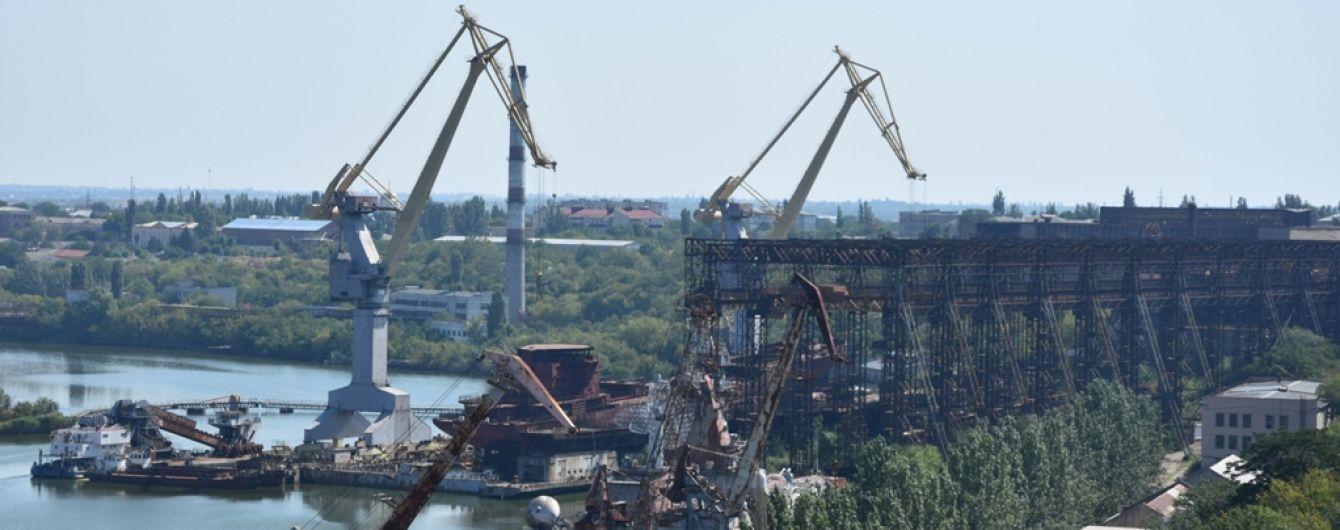 Николаевский судостроительный завод остановил работу из-за недостроенного ракетного крейсера