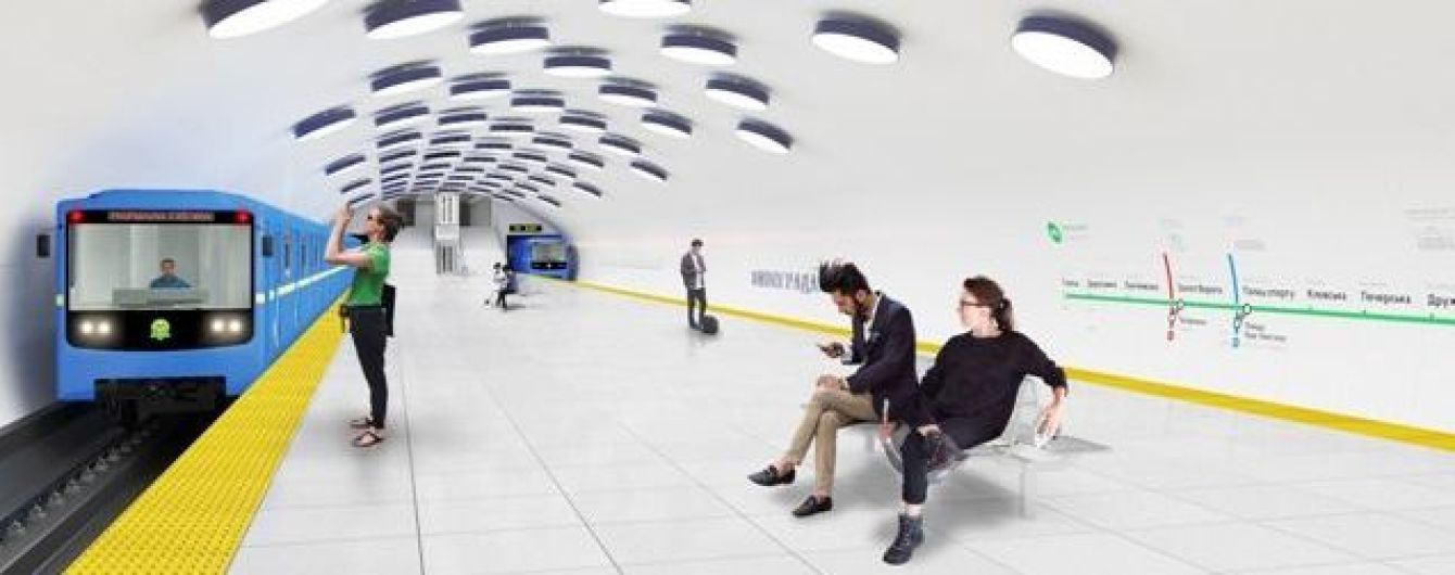Кличко озвучив терміни відкриття нових станцій метро на зеленій гілці