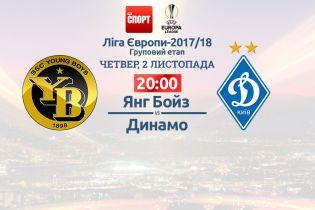 Янг Бойз - Динамо - 0:1. Онлайн-трансляция матча Лиги Европы