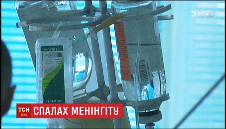 В Киеве зафиксировали еще одну смерть от менингита