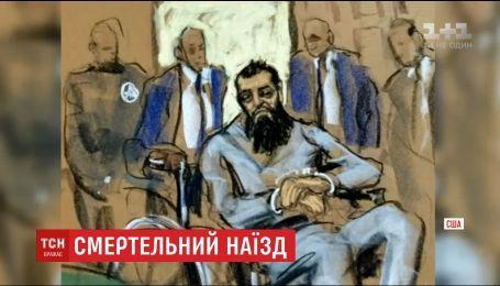 Выходец из Узбекистана Сайфулло Саипов заявил, что доволен совершенным терактом в Нью-Йорке