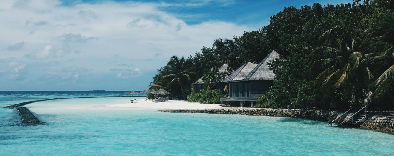 Сотні туристів відмовились летіти на Мальдіви через надзвичайний стан