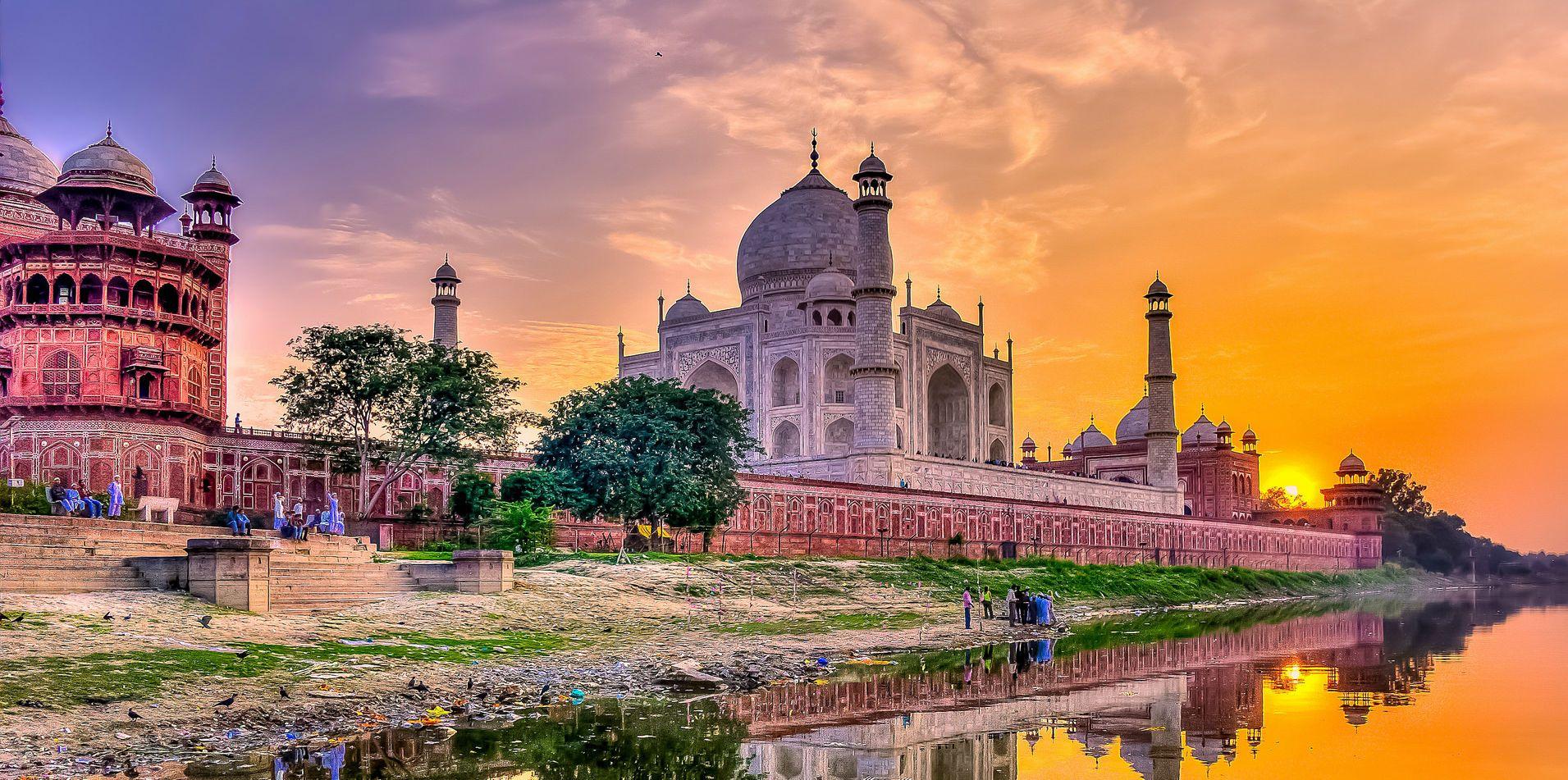 Тадж Махал, Індія