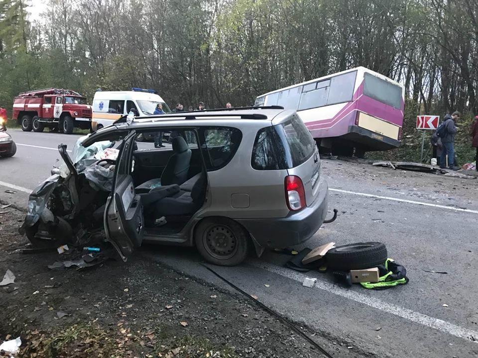 аварія  автобусом на Львівщині_1