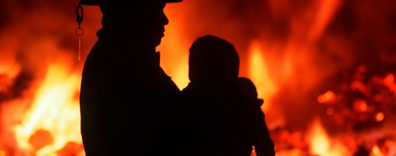 На Харьковщине заживо сгорел полуторагодовалый ребенок