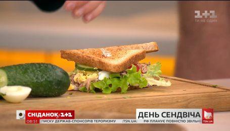 Рецепт полезного сэндвича от кулинарного блогера Дарьи Дорошкевич