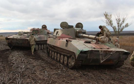 Російські найманці посилили обстріли українських позицій на Донбасі