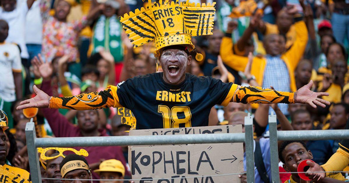 В ЮАР болельщик забавно повторил движения футболистов во время разминки
