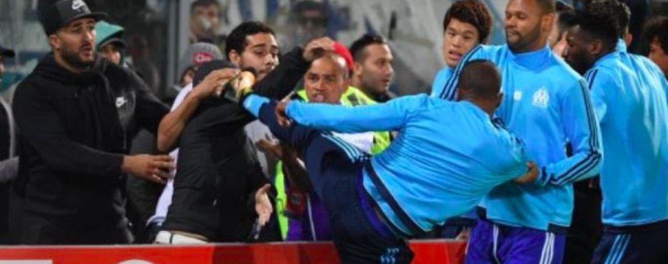 """Фанати """"Марселя"""" оголосили війну Евра за удар ногою уболівальника"""