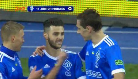 Динамо - Ворскла - 1:0. Видео гола Мораеса