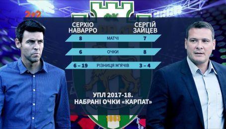 """Как изменилась статистика """"Карпат"""" с новым тренером"""