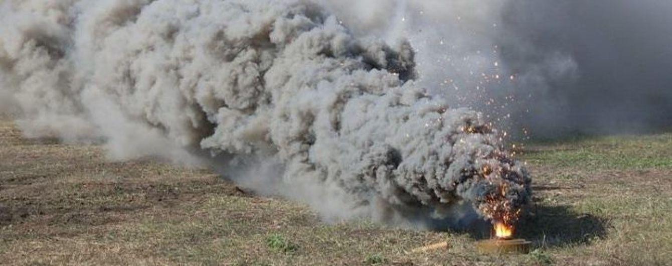 Возле Донецка в небо взлетел склад боеприпасов вместе с боевиками