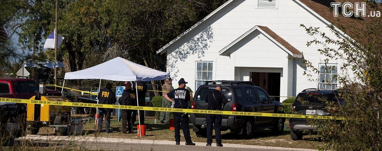 Стрілянина в тихому американському містечку. У Техасі екс-військовий вбив у церкві більше 20 вірян